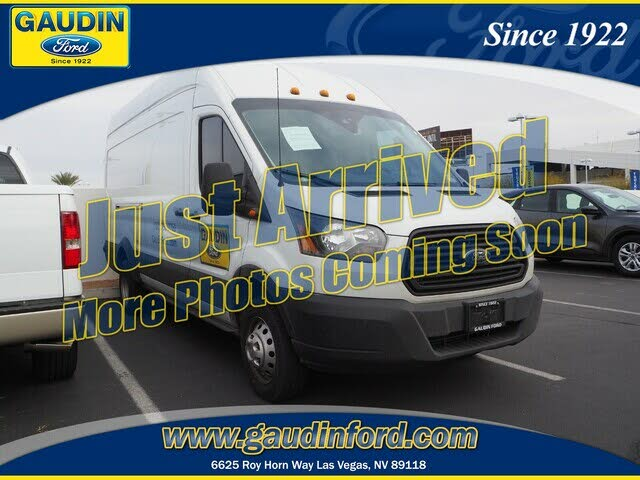 2019 Ford Transit Cargo 350 HD 10360 GVWR Extended High Roof LWB DRW RWD with Dual Sliding Side Doors