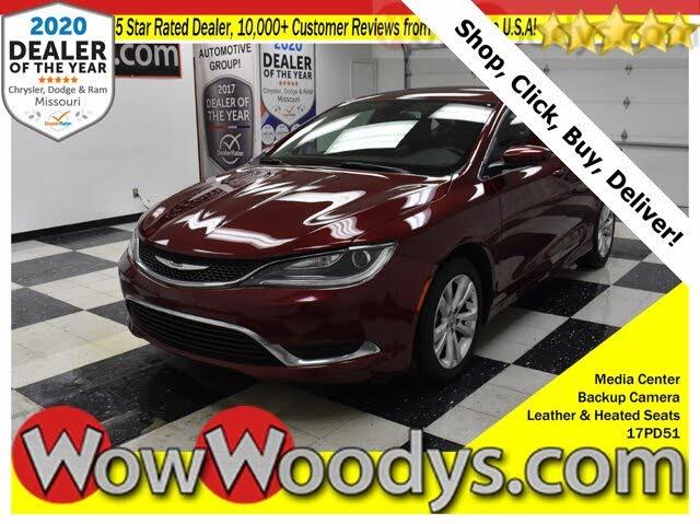 2017 Chrysler 200 Limited Platinum Sedan FWD
