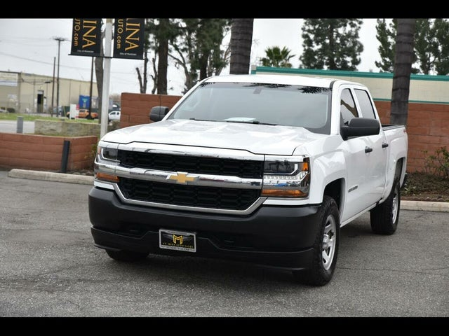 2018 Chevrolet Silverado 1500 Work Truck Crew Cab 4WD