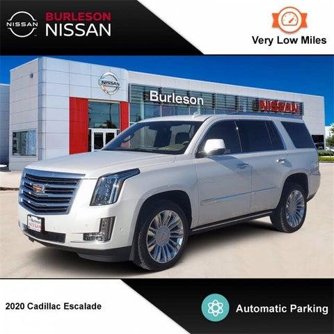 2020 Cadillac Escalade Platinum 4WD