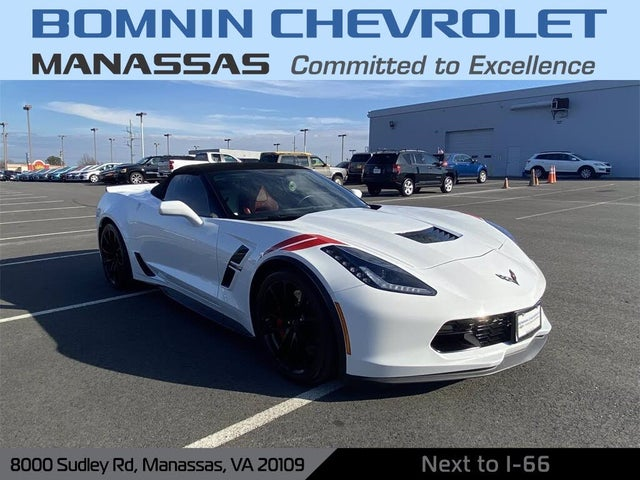 2017 Chevrolet Corvette Grand Sport 2LT Convertible RWD