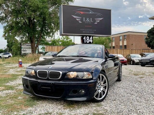 2005 BMW M3 Convertible RWD