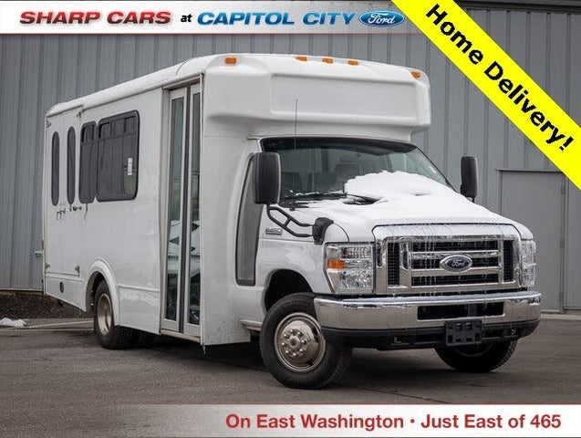 2017 Ford E-Series Chassis E-350 SD DRW Stripped RWD