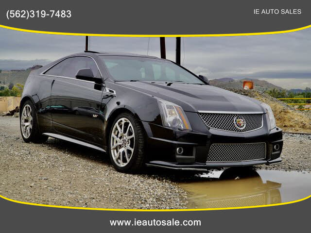 2012 Cadillac CTS-V Coupe RWD