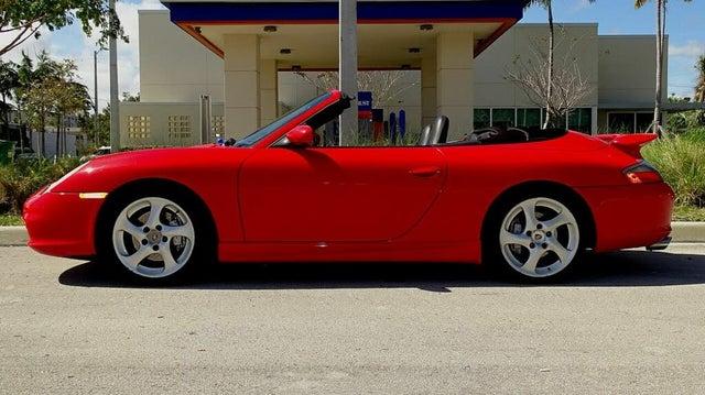 2003 Porsche 911 Carrera 4 Convertible AWD