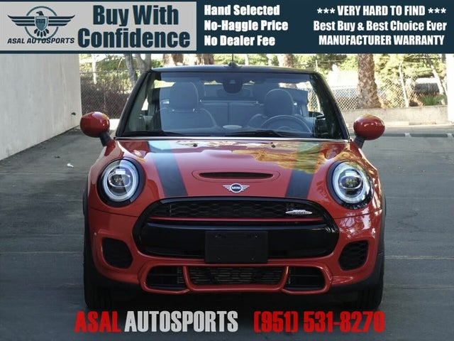 2020 MINI Cooper John Cooper Works Convertible FWD