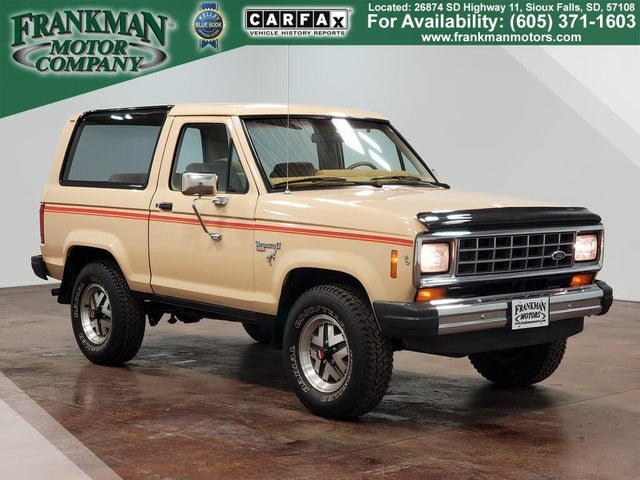 1985 Ford Bronco II XLT 4WD