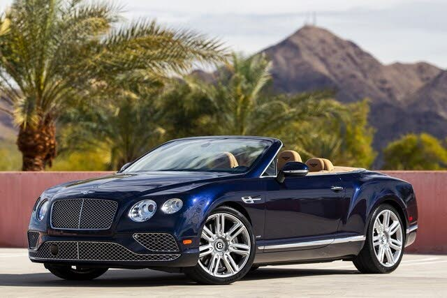 2017 Bentley Continental GTC W12 AWD