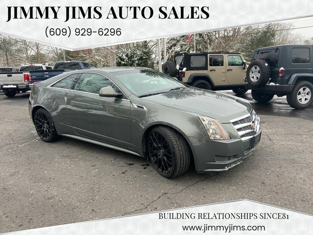 2011 Cadillac CTS Coupe 3.6L AWD