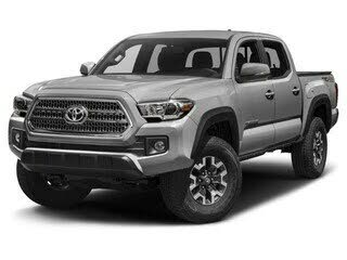 2018 Toyota Tacoma TRD Off Road Double Cab LB 4WD