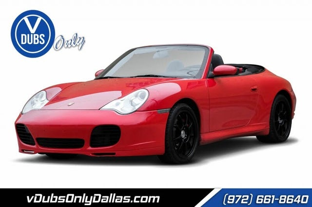 2004 Porsche 911 Carrera 4S Convertible AWD