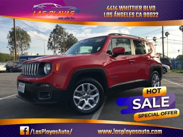 2016 Jeep Renegade Latitude 75th Anniversary