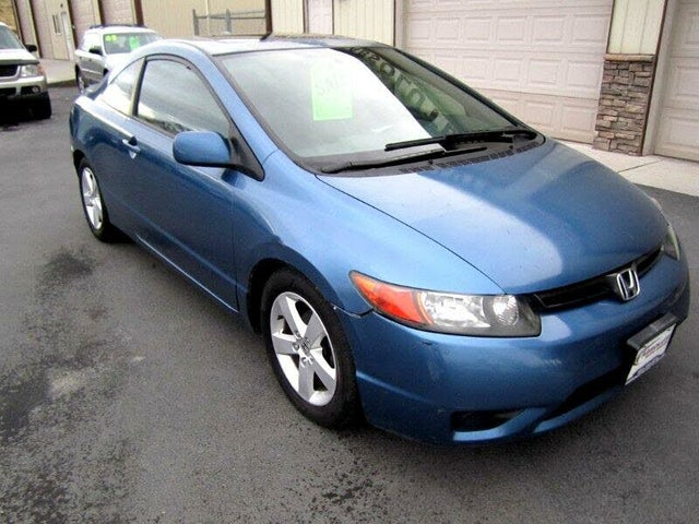 2007 Honda Civic Coupe EX with Nav