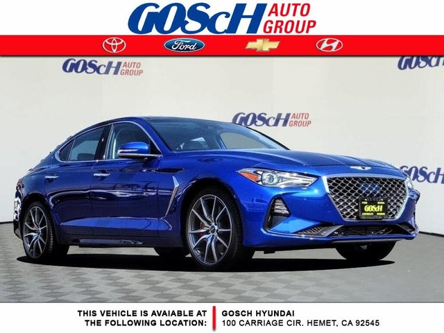 2019 Genesis G70 3.3T Advanced RWD