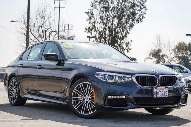 2018 BMW 5 Series 540i Sedan RWD