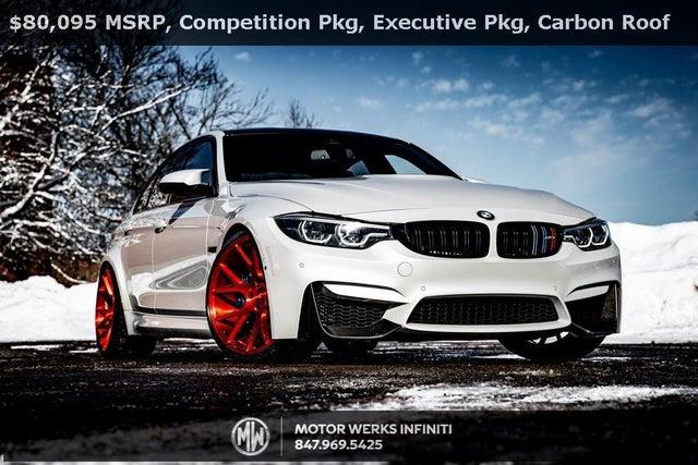 2018 BMW M3 CS Sedan RWD