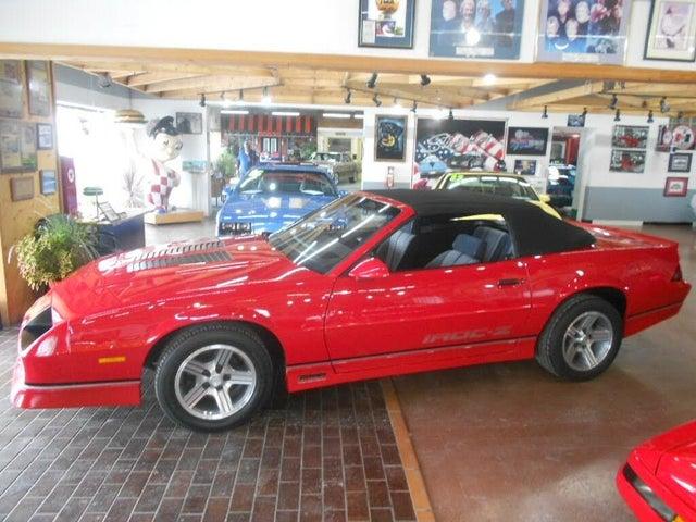 1988 Chevrolet Camaro IROC-Z Convertible RWD