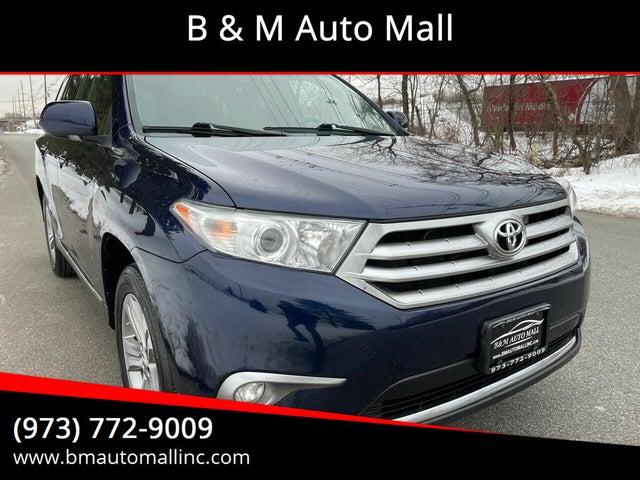 2013 Toyota Highlander Limited V6 AWD