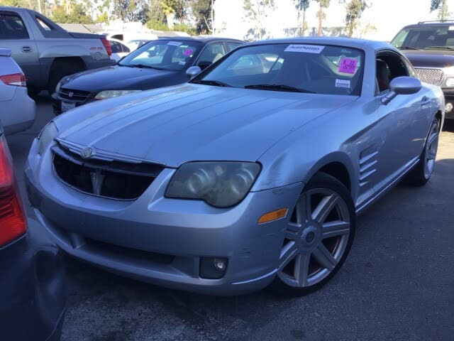 2008 Chrysler Crossfire Limited Coupe RWD