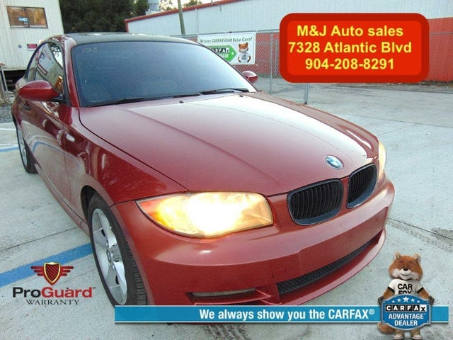 2008 BMW 1 Series 128i Coupe RWD