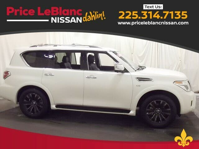 2020 Nissan Armada Platinum RWD