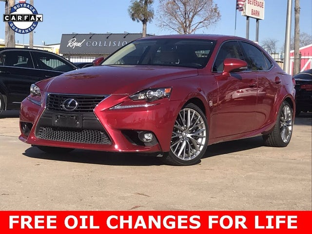 2015 Lexus IS 250 Crafted Line RWD