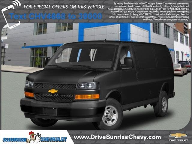 2019 Chevrolet Express Cargo 3500 RWD