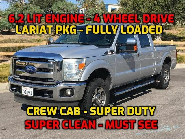 2011 Ford F-250 Super Duty Lariat Crew Cab 4WD