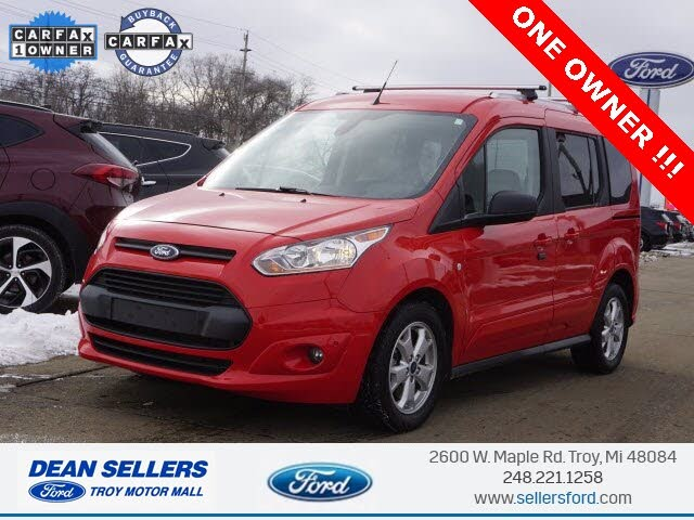 2018 Ford Transit Connect Wagon XLT FWD with Rear Liftgate