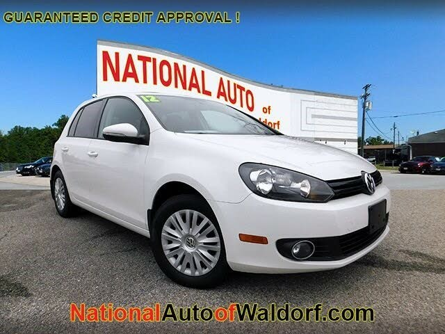 2012 Volkswagen Golf 2.5L with Conv and Sunroof