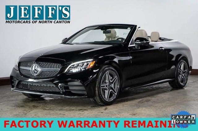 2019 Mercedes-Benz C-Class C 300 4MATIC Cabriolet AWD