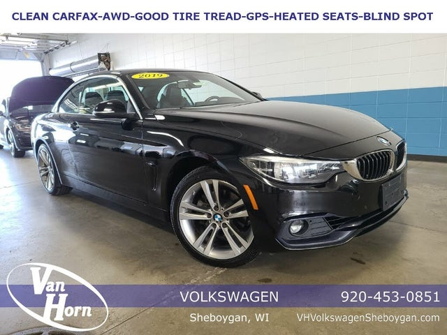 2018 BMW 4 Series 430i xDrive Convertible AWD