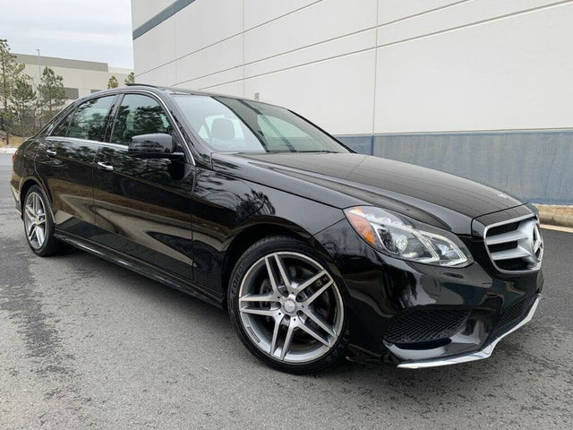 2015 Mercedes-Benz E-Class E 400 4MATIC Sedan AWD