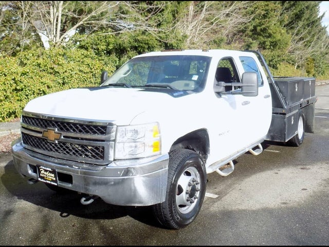 2011 Chevrolet Silverado 3500HD Chassis Work Truck Crew Cab 4WD