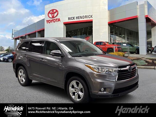 2015 Toyota Highlander Limited AWD