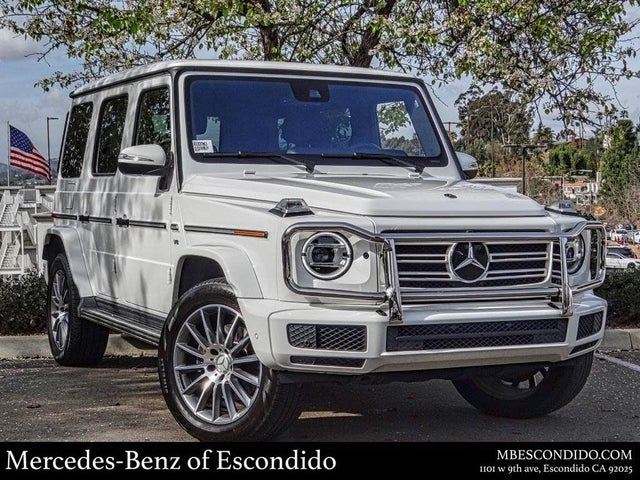 2019 Mercedes-Benz G-Class G 550 4MATIC AWD