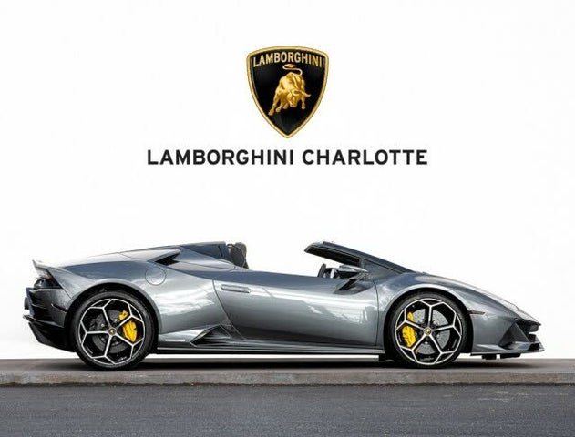 2020 Lamborghini Huracan LP 640-4 EVO Spyder Convertible AWD