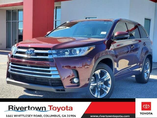 2019 Toyota Highlander Limited Platinum AWD