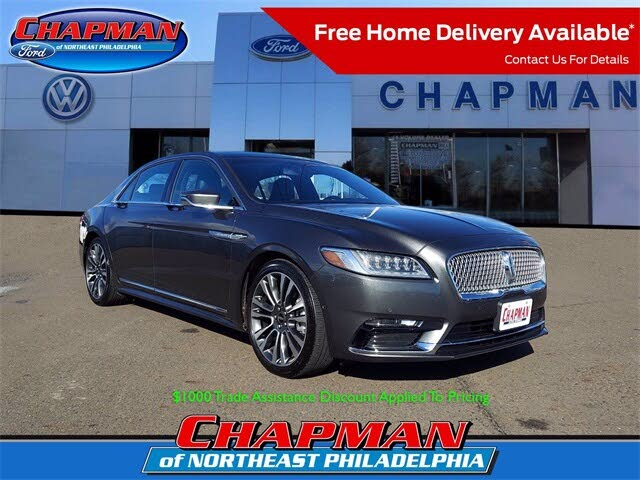 2018 Lincoln Continental Reserve AWD