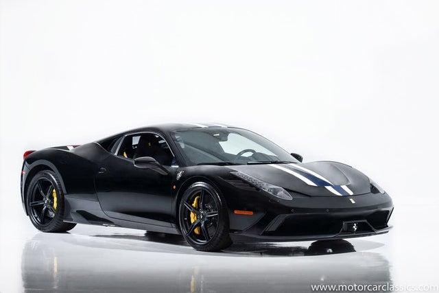2014 Ferrari 458 Italia Speciale Coupe RWD