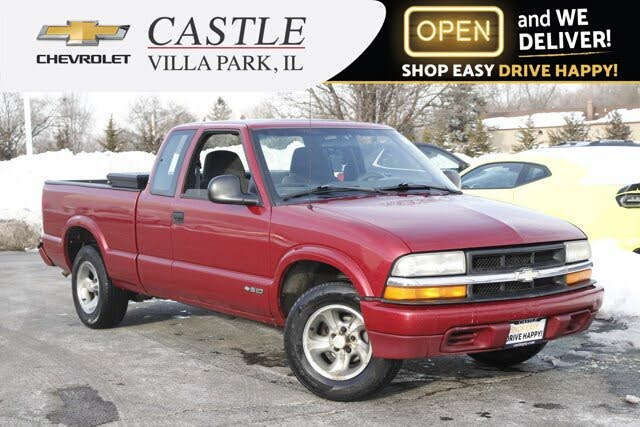 1998 Chevrolet S-10 LS Extended Cab RWD