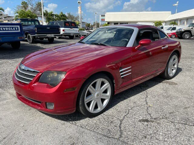 2006 Chrysler Crossfire Limited Coupe RWD