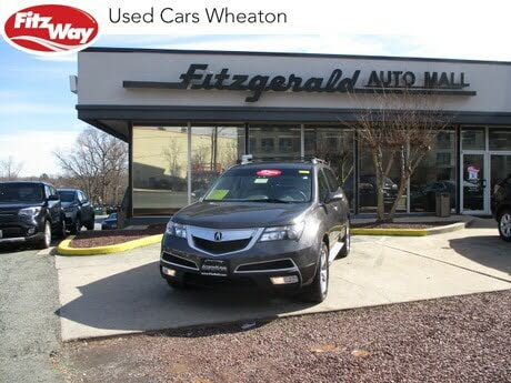 2012 Acura MDX SH-AWD with Technology and Entertainment Package
