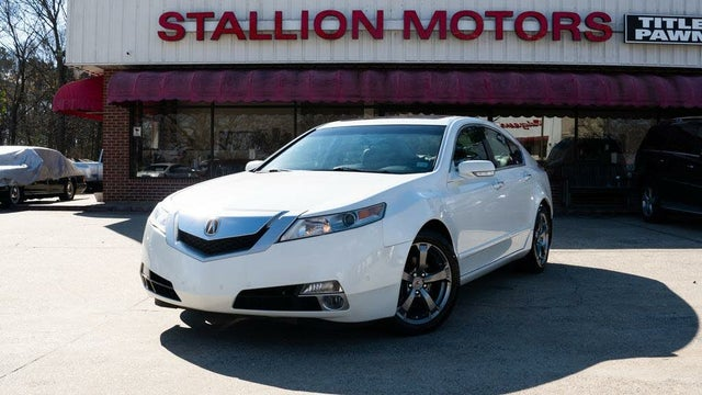2011 Acura TL SH-AWD with Technology Package and Performance Tires