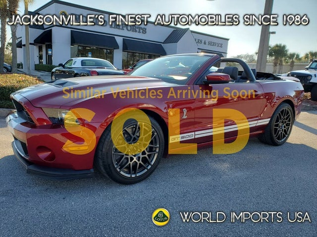 2014 Ford Mustang Shelby GT500 Convertible RWD