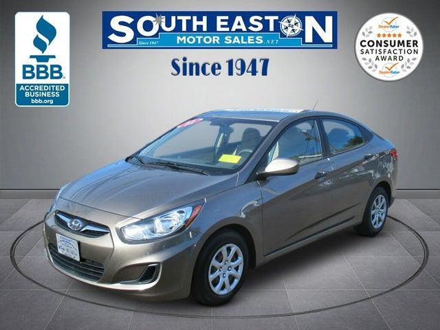 2012 Hyundai Accent GLS Sedan FWD