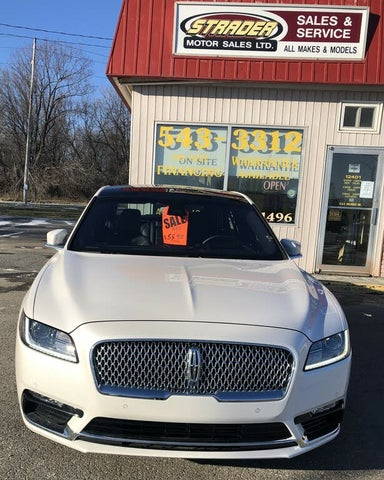 2019 Lincoln Continental Reserve AWD