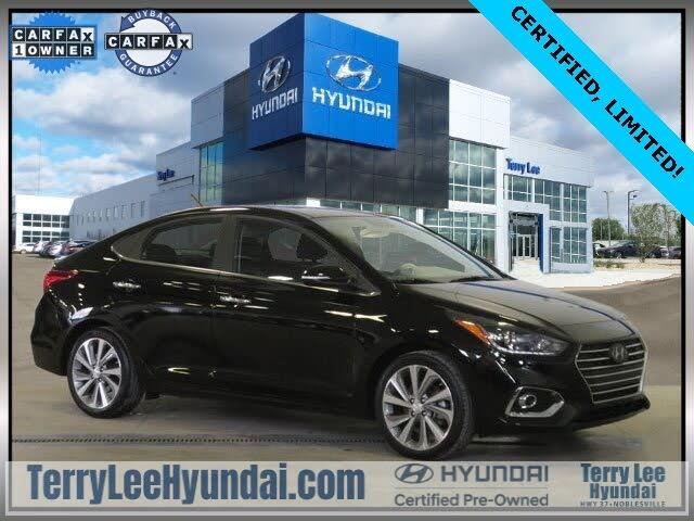 2019 Hyundai Accent Limited Sedan FWD