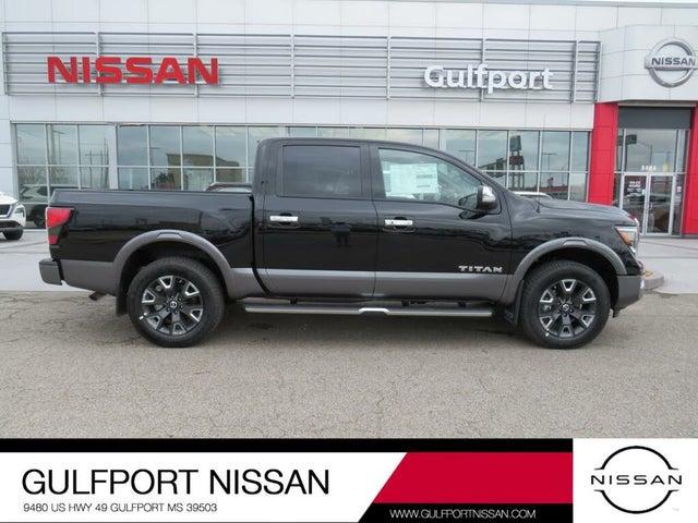 2021 Nissan Titan Platinum Reserve Crew Cab 4WD