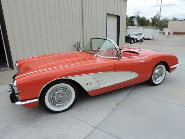 1958 Chevrolet Corvette Convertible RWD